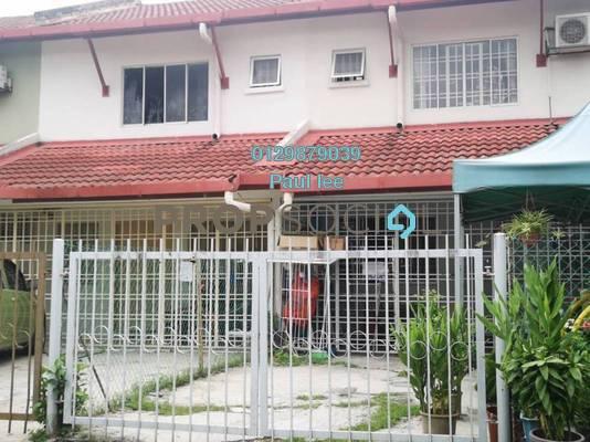 Terrace For Sale in PU5, Bandar Puchong Utama Freehold Semi Furnished 4R/3B 450k