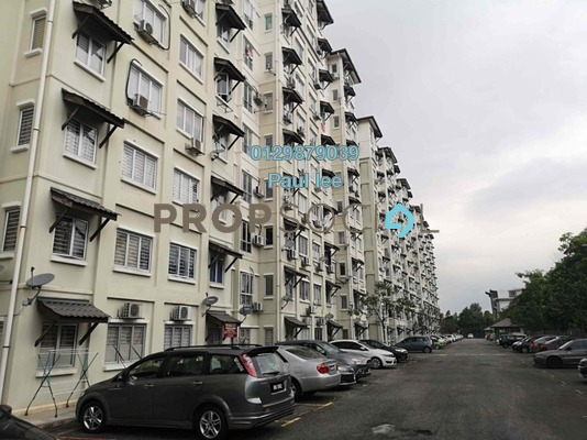 Apartment For Sale in Baiduri Courts, Bandar Bukit Puchong Freehold semi_furnished 3R/2B 258k