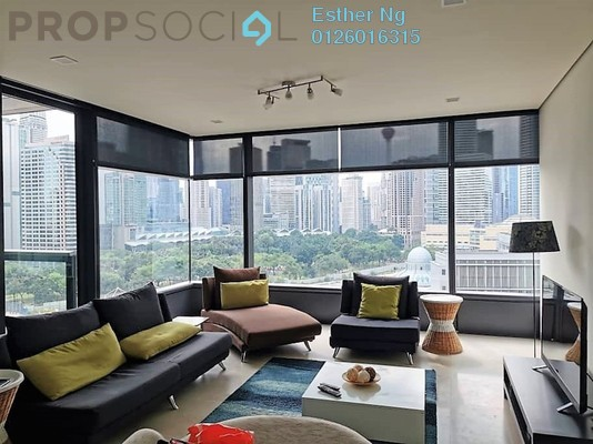 Condominium For Rent in The Troika, KLCC Freehold Fully Furnished 3R/5B 7.5k