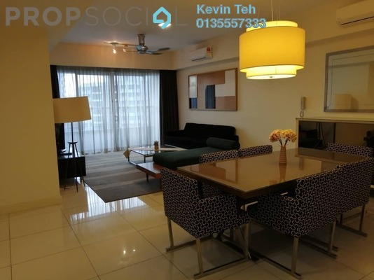 Condominium For Sale in Tiffani Kiara, Mont Kiara Freehold Fully Furnished 3R/3B 1.18m