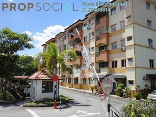 Apartment For Sale in Taman Cheras Intan, Batu 9 Cheras Freehold Unfurnished 3R/2B 320k