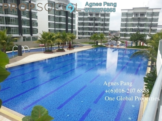 Condominium For Sale in Taman Skudai Baru, Skudai Freehold Fully Furnished 3R/3B 680k