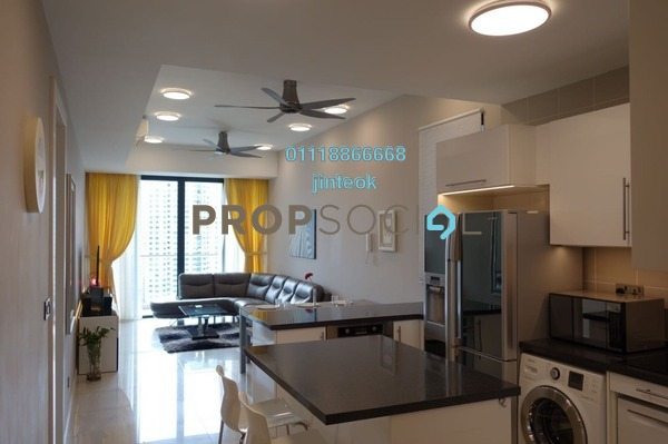 Condominium For Sale in Icon Residence (Mont Kiara), Dutamas Freehold Fully Furnished 2R/2B 1.1m