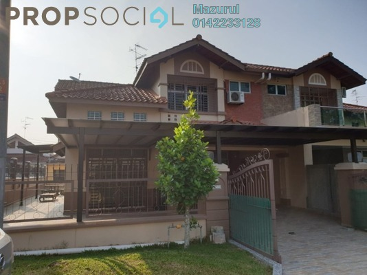 Semi-Detached For Sale in Taman Pelangi Indah, Ulu Tiram Freehold Fully Furnished 5R/4B 730k