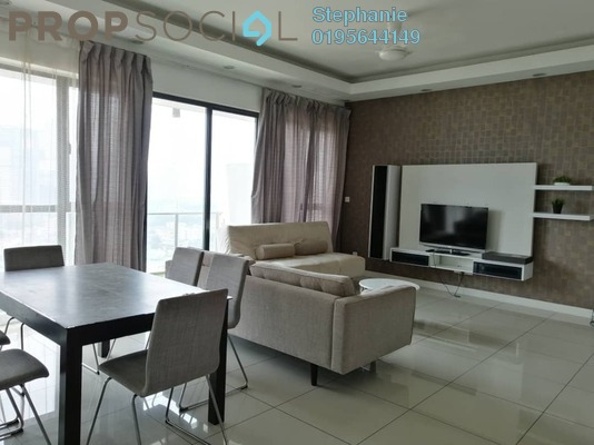 Condominium For Rent in Setia Sky Residences, KLCC Freehold Fully Furnished 3R/3B 4.8k