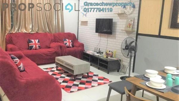 Terrace For Rent in Desaru Utama, Kota Tinggi Freehold Fully Furnished 4R/3B 1.88k