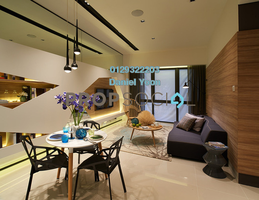 Serviced Residence For Sale in Scarletz Suites, KLCC Leasehold Fully Furnished 1R/1B 670k