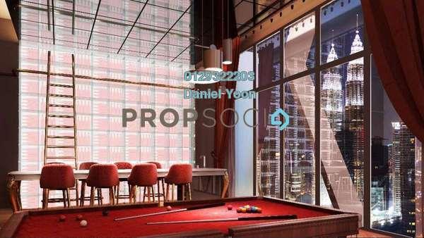 SoHo/Studio For Sale in Scarletz Suites, KLCC Leasehold Fully Furnished 1R/1B 650k