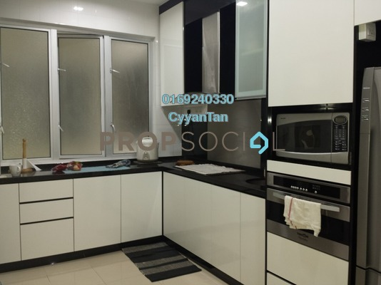 Condominium For Rent in Platinum Hill PV8, Setapak Freehold Fully Furnished 3R/2B 2.2k