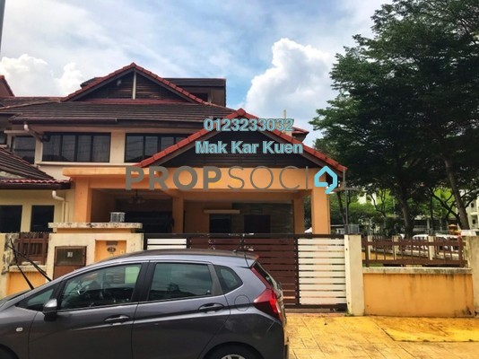 Terrace For Sale in Mutiara Tropicana, Tropicana Freehold Semi Furnished 4R/3B 1.08m