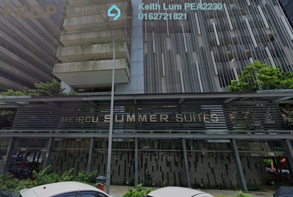 Condominium For Sale in Summer Suites, KLCC Freehold Fully Furnished 1R/1B 635k