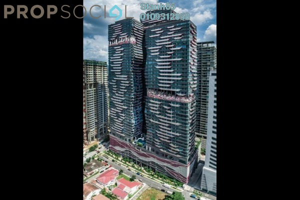 Condominium For Sale in Arte +, Jalan Ampang Freehold Unfurnished 3R/2B 511k