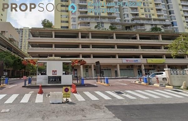 Condominium For Rent in Platinum Lake PV15, Setapak Freehold Semi Furnished 3R/2B 1.5k