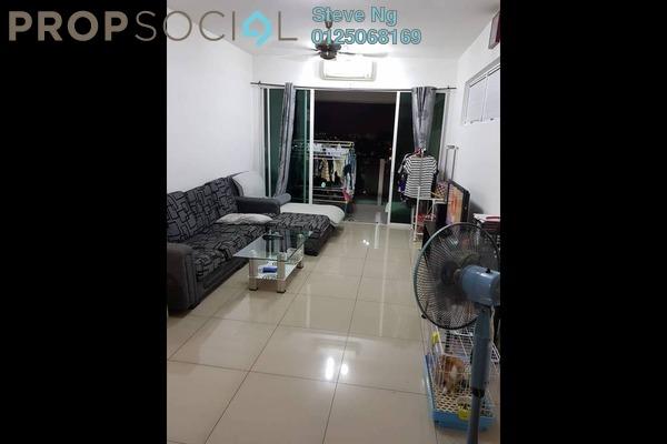 Condominium For Sale in The Zest, Bandar Kinrara Freehold Semi Furnished 3R/2B 490k