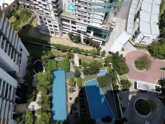 Condominium For Rent in A'Marine, Bandar Sunway Freehold Semi Furnished 4R/3B 2.9k