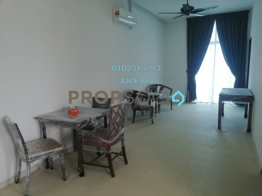 Condominium For Rent in LakeFront Homes, Cyberjaya Freehold Semi Furnished 3R/2B 1.3k