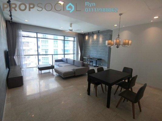 Serviced Residence For Rent in Panorama, KLCC Freehold Fully Furnished 2R/1B 3.98k