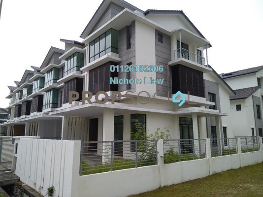 Superlink For Sale in Taman Putra Impiana, Puchong Freehold Unfurnished 5R/5B 998k