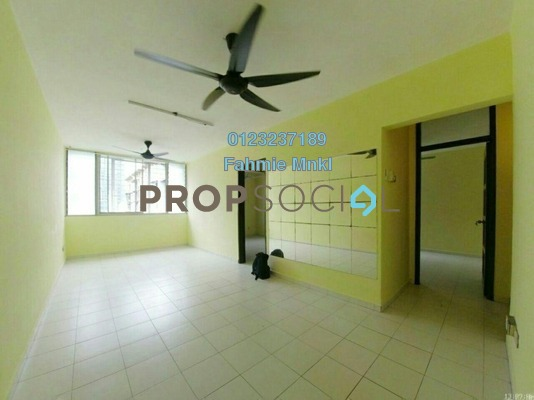 Apartment For Sale in Apartment Abdullah Hukum, Mid Valley City Freehold Semi Furnished 3R/2B 350k