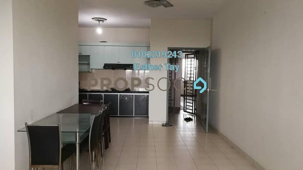 Apartment For Sale in Nusa Perdana Serviced Apartment, Iskandar Puteri (Nusajaya) Freehold Fully Furnished 3R/2B 258k