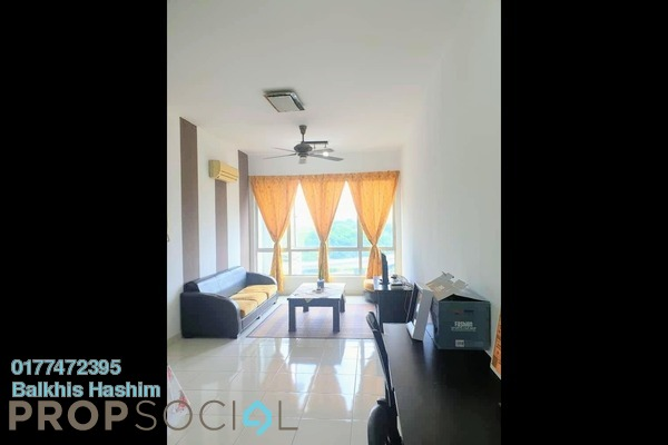 Serviced Residence For Sale in Casa Tiara, Subang Jaya Leasehold Fully Furnished 2R/2B 500k