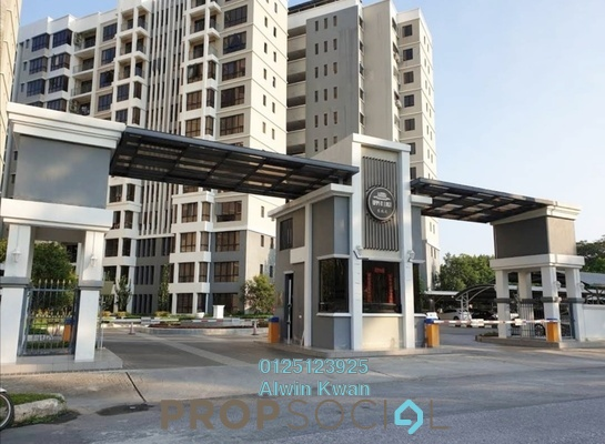 Condominium For Sale in Upper East @ Tiger Lane, Ipoh Freehold Fully Furnished 3R/2B 688k
