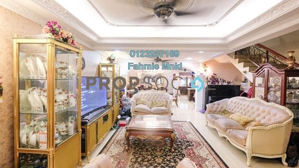Terrace For Sale in Taman Bukit Indah, Ampang Leasehold semi_furnished 4R/3B 650k