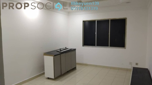 Apartment For Rent in Putra Ria Apartment, Bangsar Freehold Semi Furnished 3R/2B 1.6k
