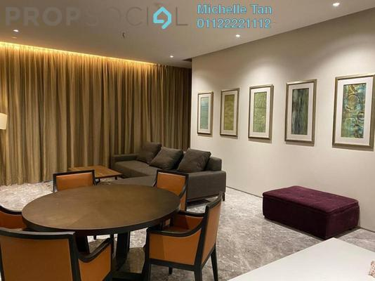 Serviced Residence For Rent in Four Seasons Place, KLCC Freehold Fully Furnished 2R/2B 12.5k