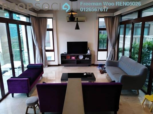 Villa For Sale in Kiara Hills, Mont Kiara Freehold Semi Furnished 5R/6B 3.5m