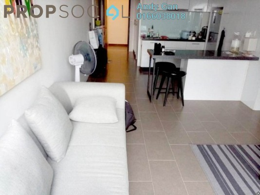 Serviced Residence For Rent in The Establishment, Brickfields Freehold Fully Furnished 0R/1B 1.8k