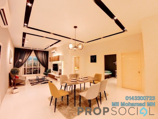Condominium For Sale in D'Idaman Residence, Bandar Tasik Selatan Freehold Unfurnished 2R/2B 370k