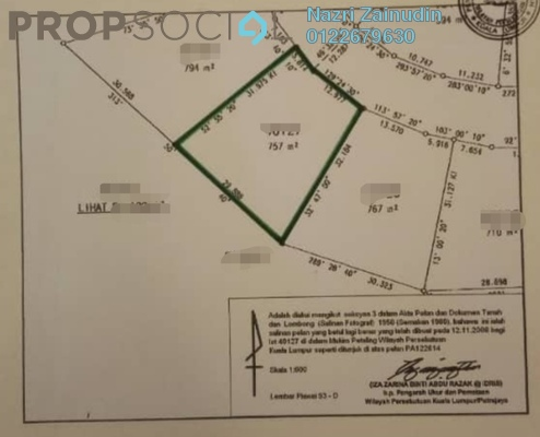 Land For Sale in Alam Sutera, Bukit Jalil Freehold Unfurnished 0R/0B 1.12m