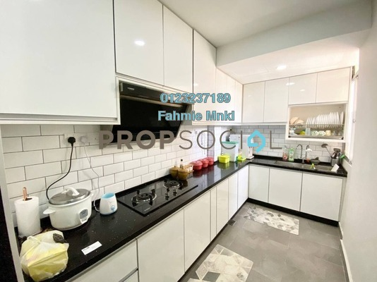 Apartment For Sale in Sri Baiduri Apartment, Ukay Freehold semi_furnished 4R/2B 350k