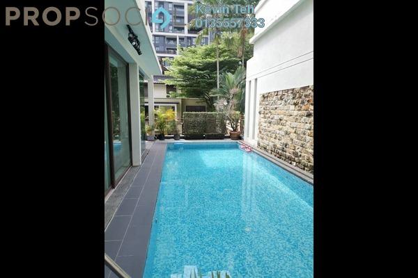 Bungalow For Sale in Villa Mont Kiara, Mont Kiara Freehold Semi Furnished 5R/6B 7m