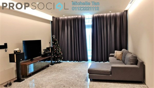 Serviced Residence For Rent in Four Seasons Place, KLCC Freehold Semi Furnished 3R/4B 20k