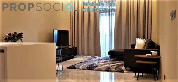 Serviced Residence For Rent in Four Seasons Place, KLCC Freehold Fully Furnished 2R/3B 16k