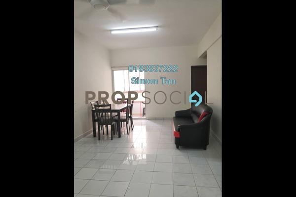 Condominium For Rent in Pelangi Damansara, Bandar Utama Freehold Fully Furnished 2R/2B 1.55k