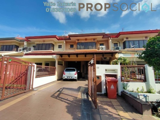 Terrace For Sale in BU10, Bandar Utama Freehold Fully Furnished 4R/3B 1.6m