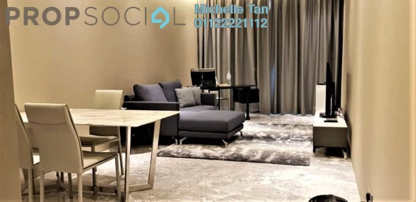 Serviced Residence For Rent in Four Seasons Place, KLCC Freehold Semi Furnished 1R/2B 12k