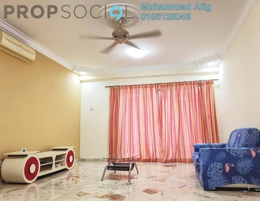 Condominium For Sale in Petaling Indah, Sungai Besi Freehold Fully Furnished 2R/2B 280k