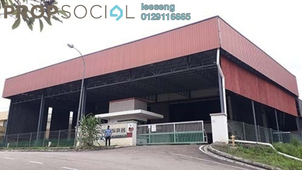 Factory For Sale in Taman Bukit Kempas, Johor Bahru Freehold Unfurnished 0R/0B 4.5m