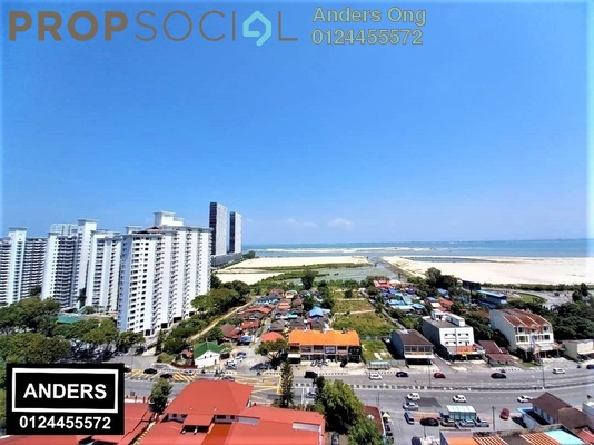 Condominium For Sale in Grand View, Tanjung Tokong Freehold Unfurnished 3R/2B 550k