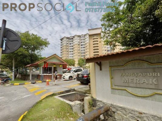 Apartment For Sale in Merak Apartment, Bandar Kinrara Freehold unfurnished 3R/2B 329k