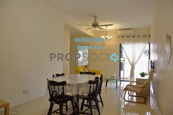 Condominium For Rent in Pelangi Utama, Bandar Utama Freehold Fully Furnished 3R/2B 1.8k
