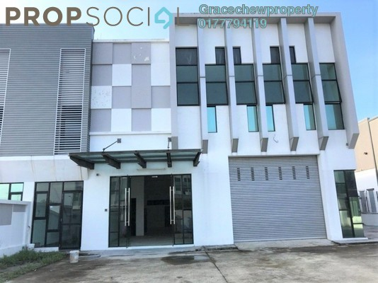 Factory For Rent in Eco Business Park I, Johor Bahru Freehold Semi Furnished 0R/0B 5.2k