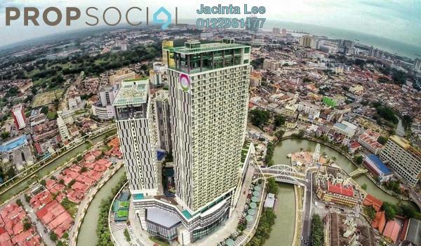 Serviced Residence For Sale in The Shore, Bandar Melaka Leasehold Fully Furnished 3R/2B 698k