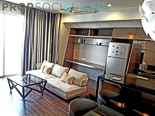 Condominium For Rent in VERVE Suites, Mont Kiara Freehold Fully Furnished 2R/2B 3k