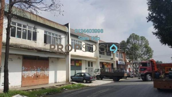 Factory For Rent in Taming Jaya Industrial Park, Balakong Freehold Unfurnished 0R/4B 4.5k