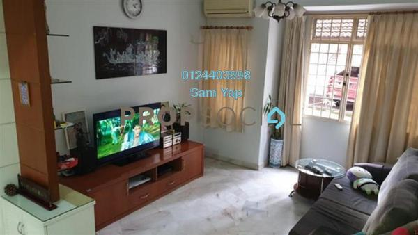 Apartment For Rent in Sentosa Court, Old Klang Road Freehold Semi Furnished 4R/2B 1.5k